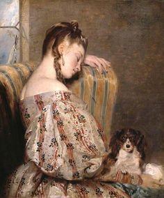 ⍕ Paintings of People & Pets ⍕  Henry Wyatt   Vigilance