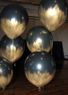 Pretty balloon ideas