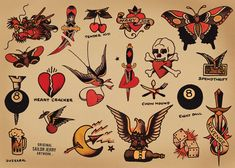 norman collins tattoo - Google Search
