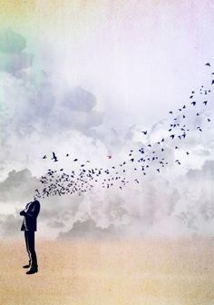 Bird Head #art #inspiration
