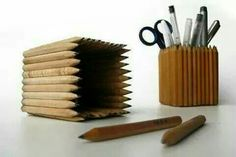 'Pencil' pot