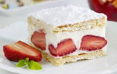 Sink Your Spoon into Strawberry Icebox Cake | HuffPost