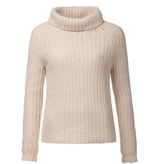 Tommy Hilfiger Femke Roll Neck Sweater ($140) ❤ liked on Polyvore featuring tops, sweaters, cream, women, pink sweater, oversized cream sweater, oversized knit sweaters, oversized turtleneck sweater and knit turtleneck sweater