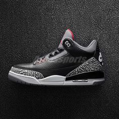 eb8546f327974c Nike Air Jordan 3 Retro OG III Black Cement Fire Red 2018 AJ3 Men 854262-