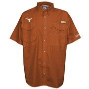 Columbia Texas Longhorns Burnt Orange Bonehead Short Sleeve Shirt #Fanatics