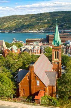 St. Andrews Presyterian Church (The Kirk), St. John's, Newfoundland, Canada