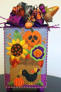 Needle Deeva design via Enriched Stitch: beautiful fall picture!