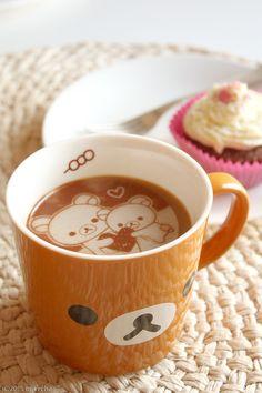 ❤ A cup of Rilakkuma (^∇^)