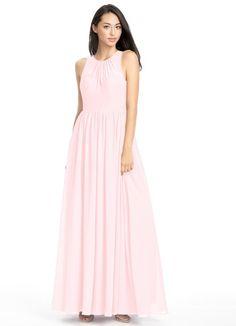 AZAZIE JEWEL. Jewel is a chic floor-length dress in an A-line cut. #Bridesmaid…