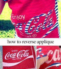 Reverse Appliqué DIY
