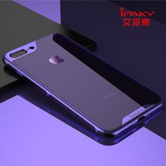 Ipaky Shockproof Ultra-Thin Soft Case Full Cover Pc Bumper For Iphone 6 7 8 Plus