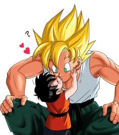 Goku and Pan <3 Dragon Ball