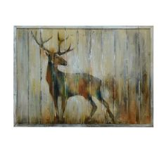 My wife and I just bought a new cabin in the mountains that we are really excited about.  We really want to get some great decor to start off.  I love the dark colors of this piece of art here.  The canvas is also really interesting, and I love the texture it provides.