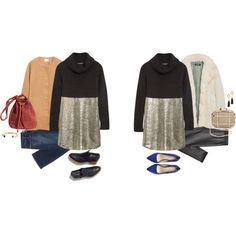 Untitled #16120 by hanger731x on Polyvore featuring Carvela Kurt Geiger, H&M, Whiting & Davis, Vanessa Mooney and Banana Republic