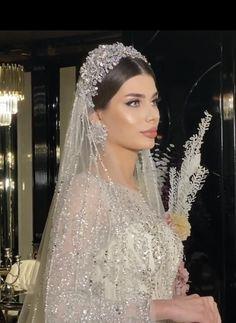 Bridal Hair Updo With Veil, Bridal Veils And Headpieces, Wedding Hairstyles With Veil, Wedding Headband, Bridal Crown, Bridal Hairstyle, Wedding Wows, Wedding Beach, Garden Wedding
