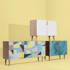 sideboard design for modern house Asian Furniture, Custom Furniture, Furniture Sketches, Sustainable Furniture, Buy Furniture Online, Furniture Collection, Sideboard, Modern Decor, Interiors