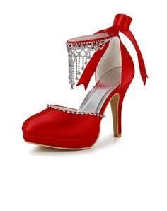 red pumps under 3in and size 12ww - Google Search