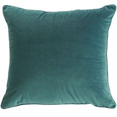 Labor Day Party Decor: Simple and Comfy. Shaded Spruce pillow