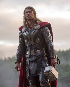 Thor, son of Odin, god of thunder