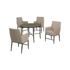 Hampton Bay Aria 5-Piece Patio High Dining Set FCS80223ST at The Home Depot - Mobile