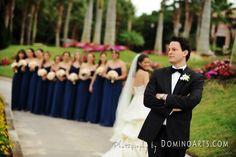 groom looking for his bride lol