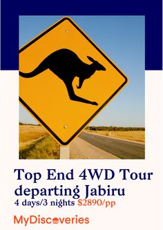 Travel with Venture North on their small group, all inclusive 4WD trip for 4-days through Kakadu, Arnhem Land and the Cobourg Peninsula. MyDiscoveries!