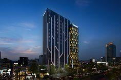 Gallery of Dormy Inn Premium Garosugil / PLANEARTH Architects - 1