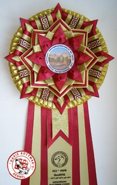 beautiful rosette
