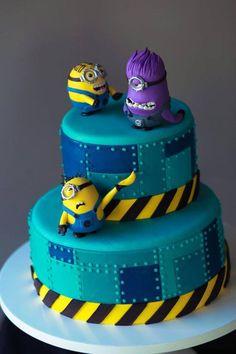 The Mischief Maker minion birthday cake