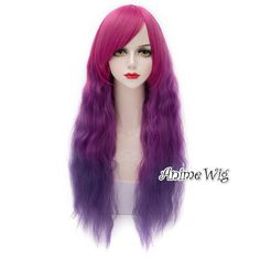 Maganta Mixed Purple 65cm Lolita Cosplay Anime Hair Wig Heat Resistant