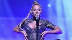 Beyonce performs during TIDAL X: 1015 on October 15, 2016 in New York City
