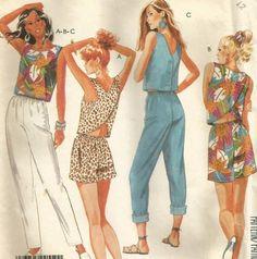 Vintage 80s McCalls 3147 UNCUT Misses Summer Criss by RomasMaison