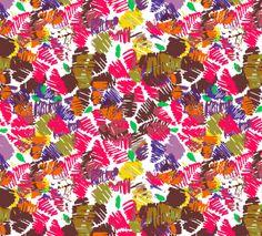 hojas de verano by jimena palacios, via Behance