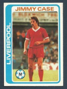 TOPPS 1979 FOOTBALLERS #071-LIVERPOOL-JIMMY CASE