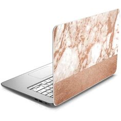 For personalized laptop coverage printed in stunning, vibrant color choose the White Rose Gold Marble Chromebook 14-x010nr Skin brought to you exclusively by Skinit. Our laptop decals provided premium Chromebook 14-x010nr coverage without the bulk of a case. The White Rose Gold Marble Skin is a high quality laptop decal carefully cut and crafted to fit your HP Chromebook 14-x010nr perfectly so you can be assured it won't interfere with any buttons or sensors. The White Rose Gold Marble…
