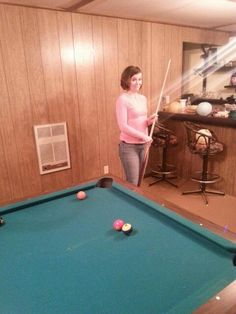 For yesterday not going according to plan I have to say it was still amazing!  We ended up having dinner and playing pool with some great friends!  Thank you Erik Butts and Alexis for a fun night!    #friends #funtimes #thingshappenforareason