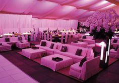 Location: The Setai, Miami, FL; Event Design and Lighting: KARLA Conceptual Event Experiences, Miami, FL; Furniture: Nüage Designs, Miami, FL; Photography: Matt Horton, The Artist Group c/o Grace Ormonde Wedding Style