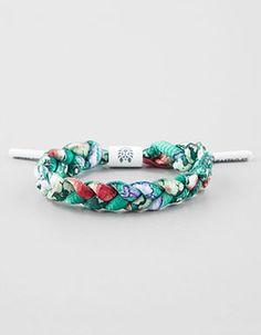 Brand New rastaclat North Star Or Blanc Tressé Lacet Bracelet