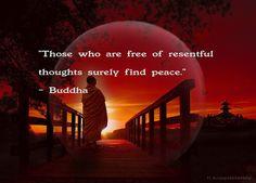 Buddha Quote . Art by H. Koppdelaney