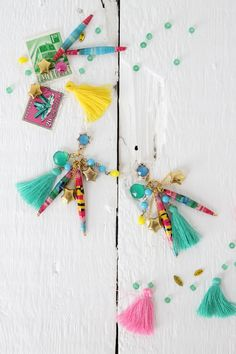 Summer statement earrings - Lotts and Lots