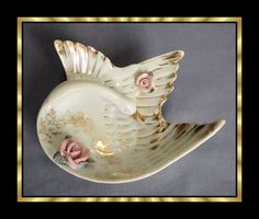 Lefton swan dish