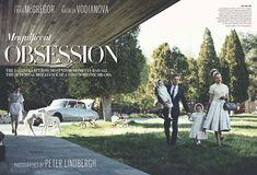 Natalia Vodianova & Ewan McGregor by Peter Lindbergh for <em>Vogue US</em> July 2010