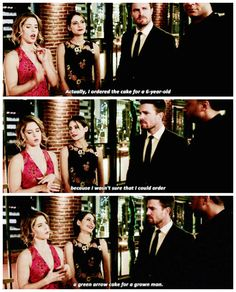 """#Arrow 5x22 """"Missing"""" - Felicity, Thea, Oliver and John"""