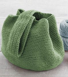 Crochet Bucket Bag By Martha Stewart Crafts - Free Crochet Pattern - (joann)