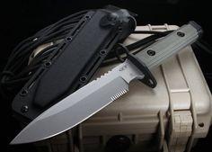 Zero Tolerance ZT-9 Strider Design Bayonet Fixed Blade Knife  - ZT 9