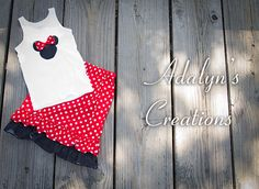 Mouse outfit by Adalynscreations on Etsy, $56.99