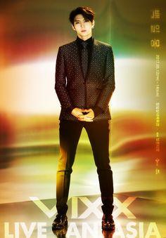 """Leo (VIXX) """"Live Fantasia"""" Poster"""