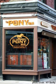 The Pony Bar - Beer