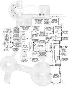 Luxury Mansion House Plans ashburton | luxury home blueprints | mansion floor plans | house
