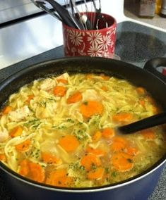 Homestyle Chicken Noodle Soup (in less than 30 minutes!) | How to Cook Guide